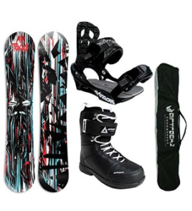 Airtracks Wide Board Rain Set für Snowboard