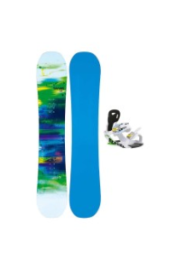 Snowboard Set Man 161 W