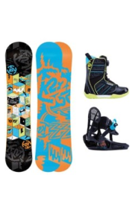 Grom Pack Snowboard Set